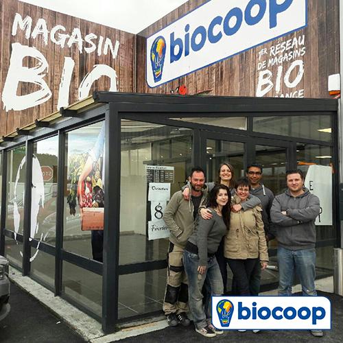 ouverture d 39 un magasin biocoop l zignan corbi res au coeur de l 39 aude pont l 39 abb. Black Bedroom Furniture Sets. Home Design Ideas