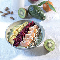 Smoothie bowl avocat peps